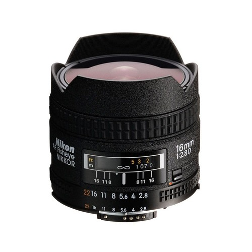 Nikon 16mm f/2.8 Fisheye