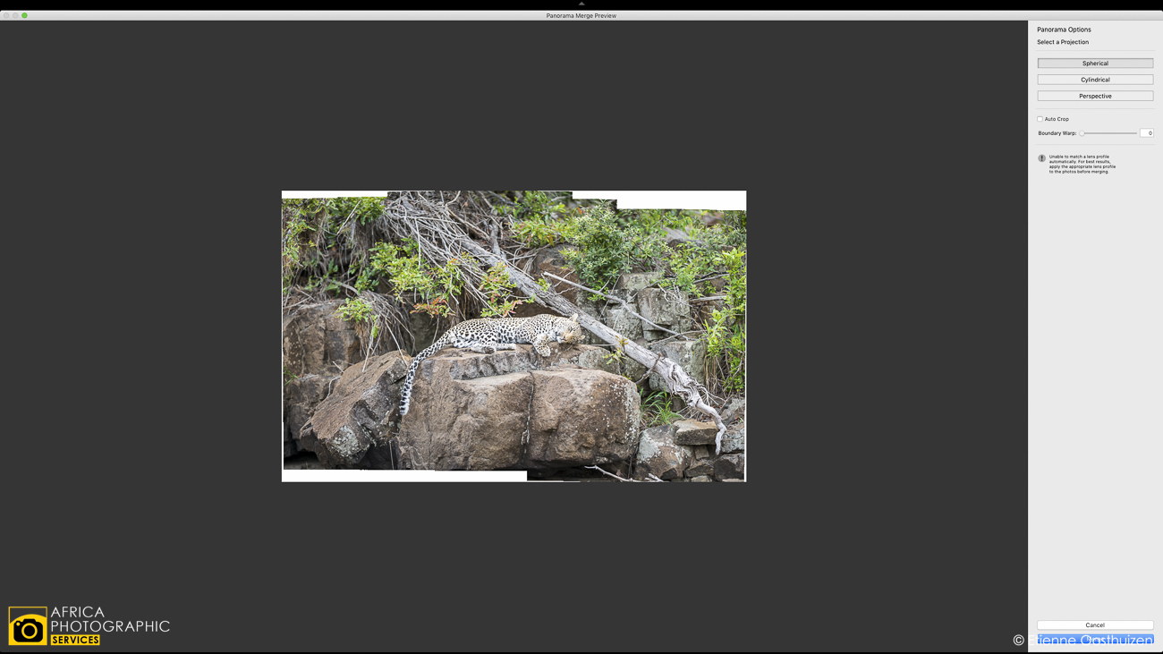 Creating photographic context with Telephoto Panorama's 14