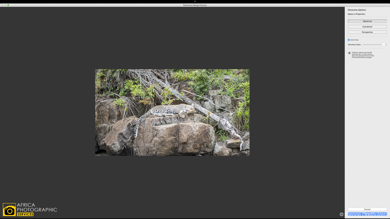 Creating photographic context with Telephoto Panorama's 15