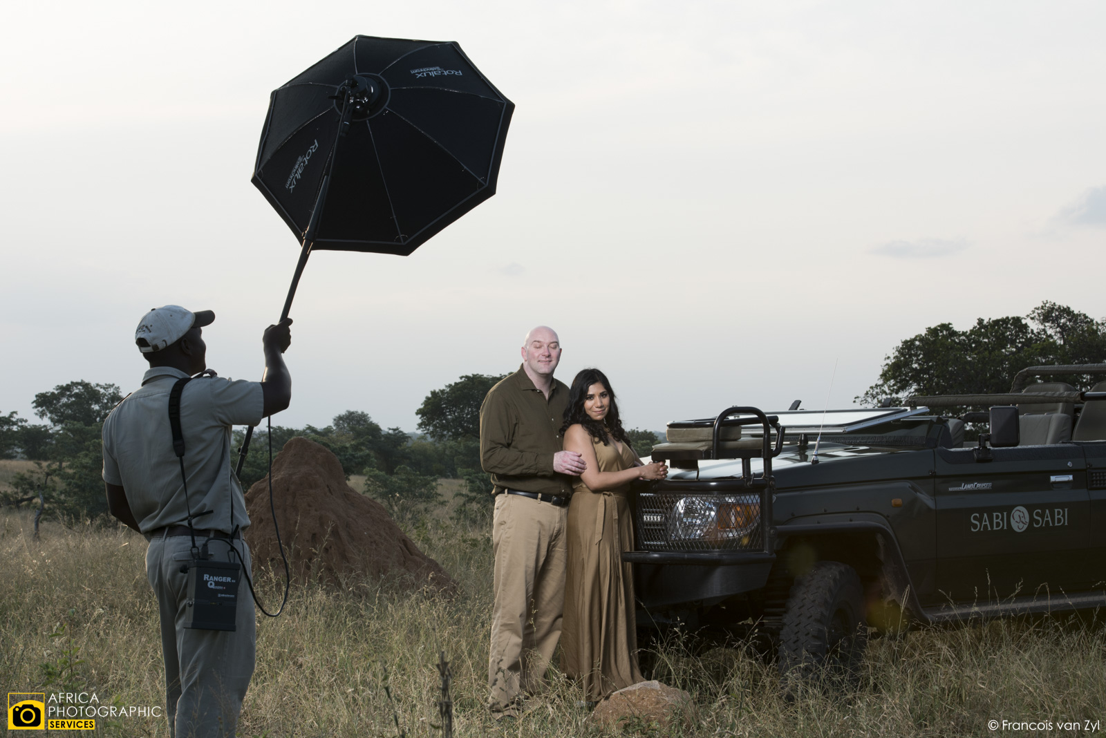 Francois van Zyl Wedding Portrait Photographer Mpumalanga South Africa  D816994 - Safari Portraiture, a behind the scenes look