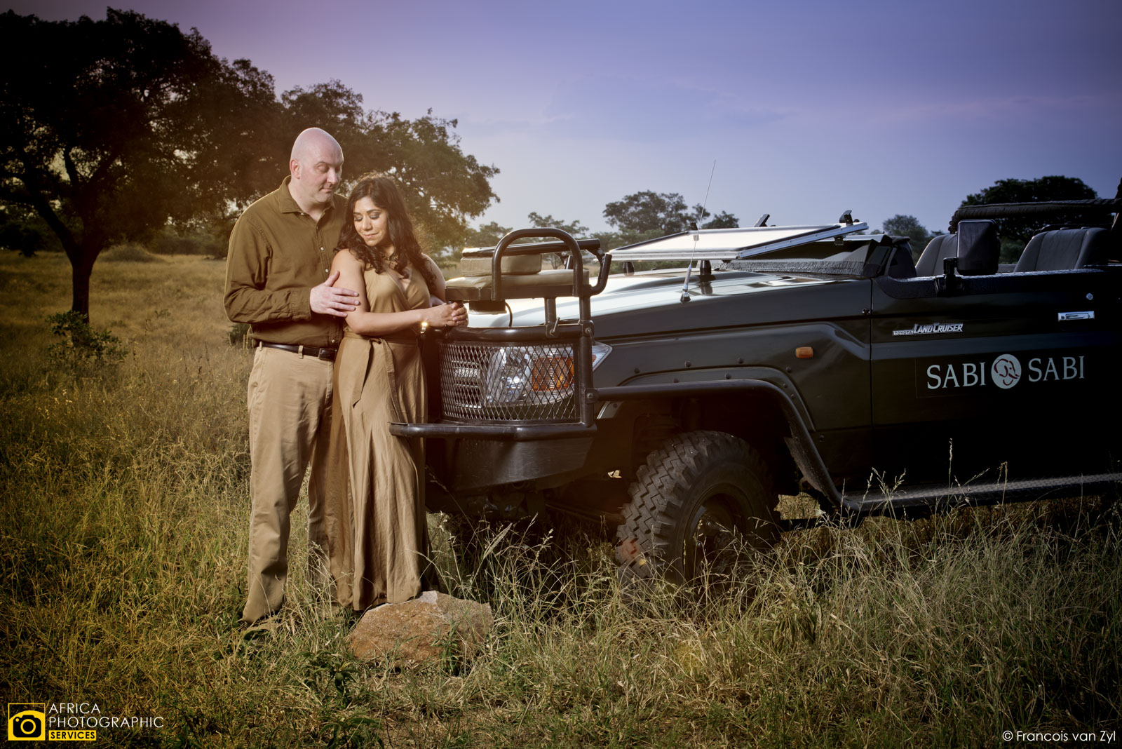 Francois van Zyl Wedding Portrait Photographer Mpumalanga South Africa  D816996 - Safari Portraiture, a behind the scenes look