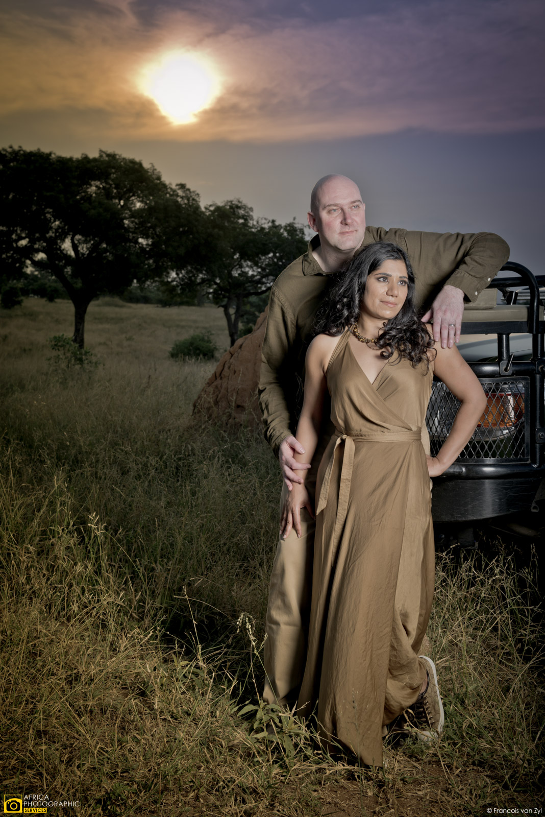 Francois van Zyl Wedding Portrait Photographer Mpumalanga South Africa  D817013 - Safari Portraiture, a behind the scenes look